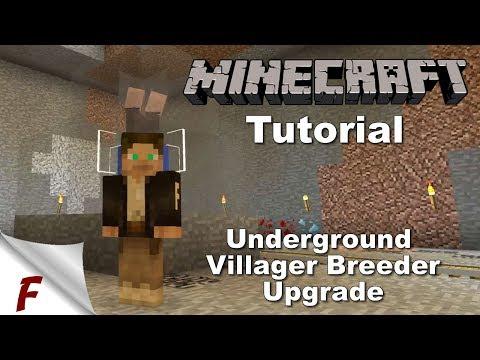 ✅ Minecraft Infinite Villager Breeder Tutorial Underground Upgrade 1.13 and 1.12
