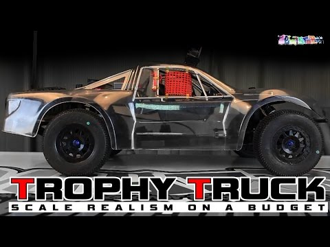 RC TROPHY TRUCK on a Budget