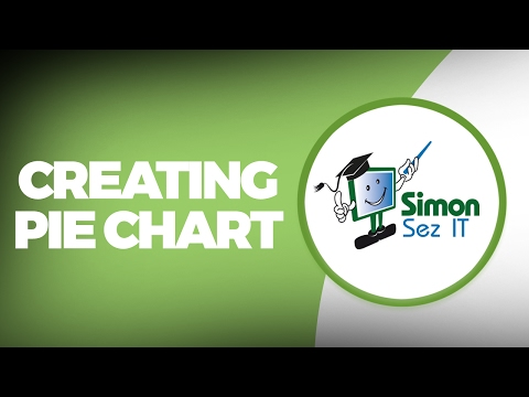 Excel 2010 Training - Pie Chart Comparisons or Differences