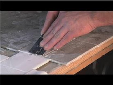 Grouting Help : How to Remove Dry Grout From Tile Surface