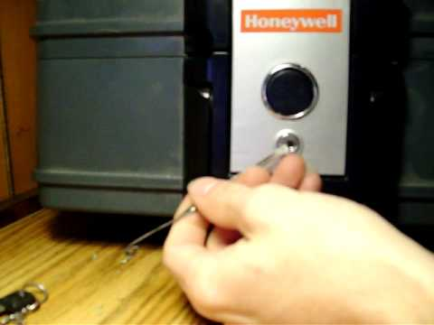 picking a honeywell safe box