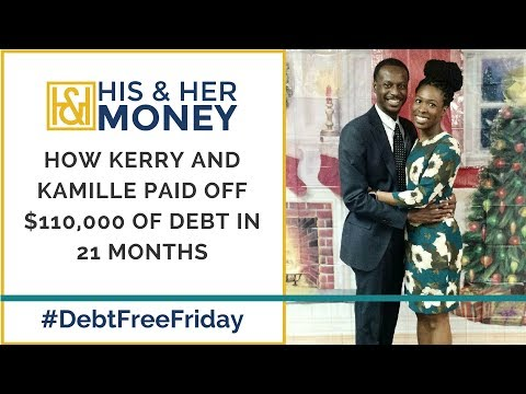 How Kerry and Kamille Paid Off $110,000 of Debt in 21 Months