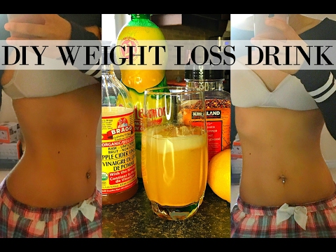DIY FLAT BELLY WEIGHT LOSS DRINK   LOSE BELLY FAT & BURN FAT IN 1 WEEK   NO EXERCISE, ALL NATURAL