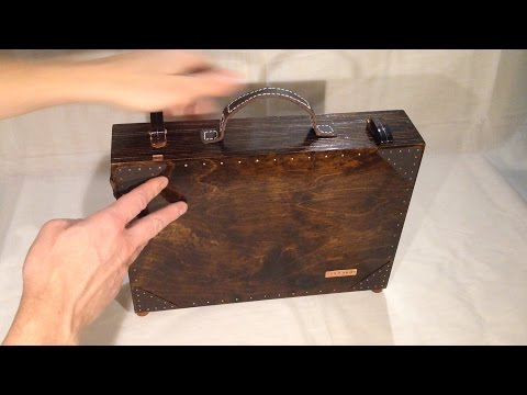 Steampunk Raspberry Laptop - Part 1 - Making the Outer Case