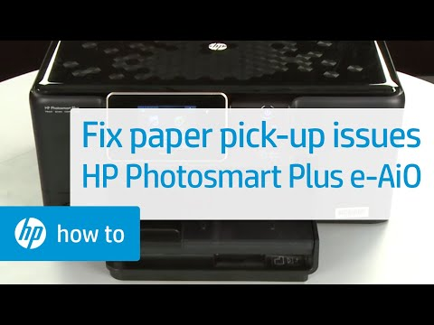 Fixing Paper Pick-Up Issues - HP Photosmart Plus e-All-in-One Printer (B210a)