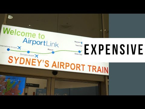 Sydney Airport Link Train Is Stupidly Expensive