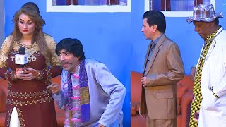 Sajan Abbas and Afreen Khan | Amanat Chan | Stage Drama Mastiyan Full Comedy Clip 2019
