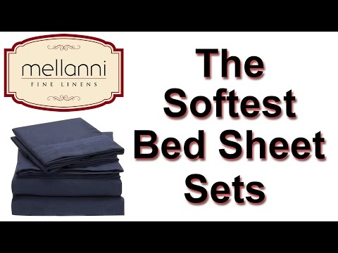 Mellanni Bed Sheets On Amazon | Bedding Queen Sets - Soft And Luxurious