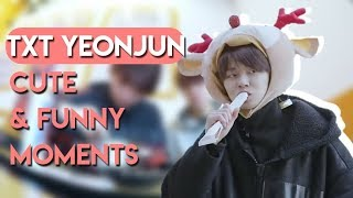 Download TXT YEONJUN CUTE & FUNNY MOMENTS [ENG SUB] Video