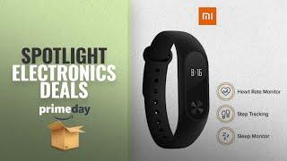 17th July Prime Day Spotlight Deals On Electronics: Mi Band 2 (Black)