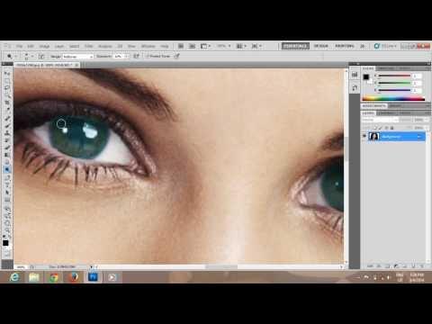 Photoshop CS5 Change Eyes Color Tutorial