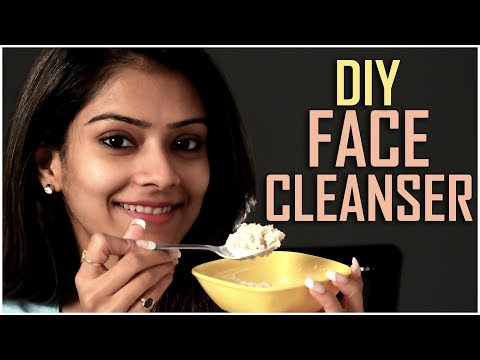 DIY Face Cleanser | Face Cleanser Tutorial | Skincare Tutorial | Face Pack For Girls | Foxy Makeup