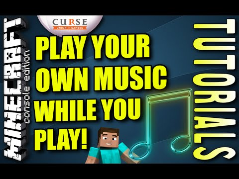 MINECRAFT - PS3 - PLAY YOUR OWN MUSIC IN GAME - TUTORIAL -  -