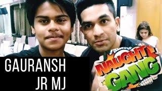 🔥Naughty Gang Movie Press Conference🔥 || Gauransh Jr. MJ || Vlog Mumbai