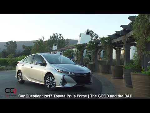 2017 Toyota Prius Prime | The GOOD and the BAD! | Review: Part 5/7