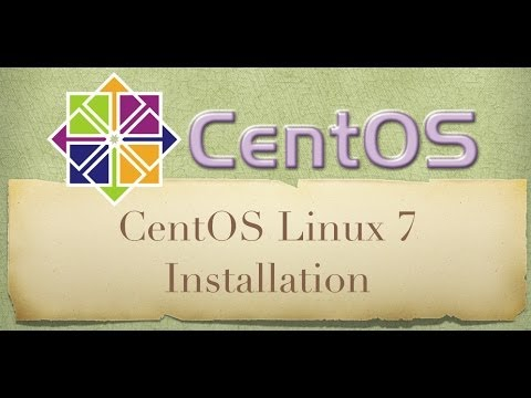 Centos Linux 7 (RC) Installation Tutorial and First Look