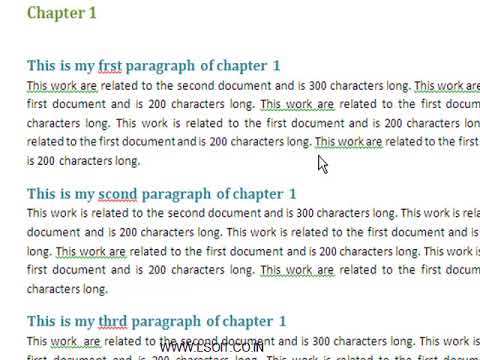 Proofing Group in Review Tab Ms Word Video Tutorials in Hindi - LSOIT.COM