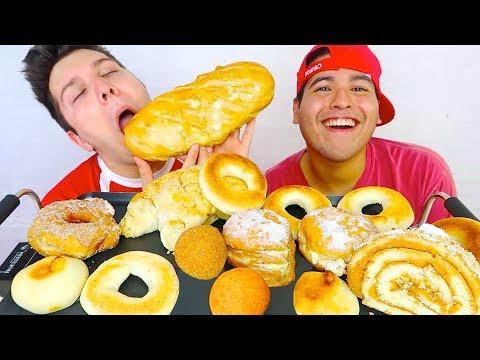 Donuts & Cheese Balls • MUKBANG
