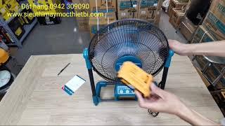 HÀNG MỚI - Quạt Gió sử dụng Pin + Điện Total. Giá 1.000.000đ/nguyenchidam