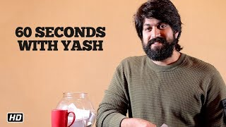 60 Seconds With Yash | KGF | 21st December