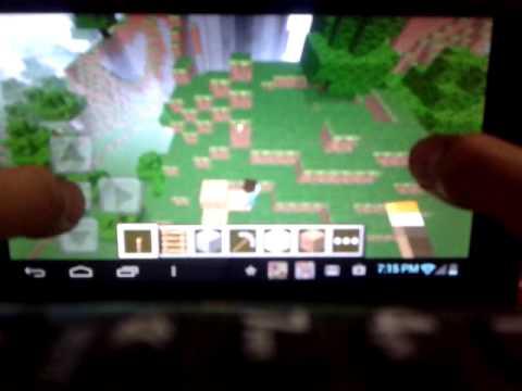Minecraft pe demo(multiplayer)