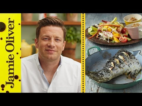 Roasted Salmon with Green Tea | Jamie Oliver
