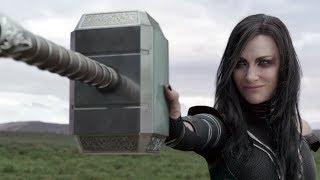 Thor Ragnarok: Hela Destroys Thor