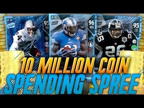 The Best Team on Madden 18 Ultimate Team! 10 Million Coin Spending Spree! Madden 18 Ultimate Team