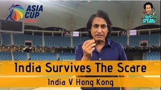 India survives the scare   India V Hong Kong   Asia Cup 2018
