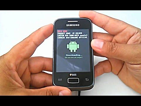 Firmware Stock Rom Samsung Galaxy Y Duos GT-S6102, S6102b, como instalar, atualizar, restaurar