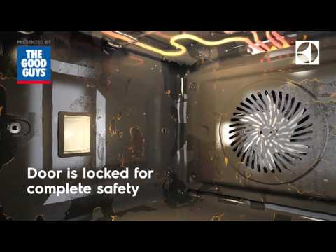 Electrolux Pyrolytic Oven Self-Clean Function at The Good Guys