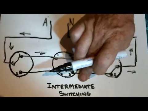 Intermediate Switching.(3 way switching)
