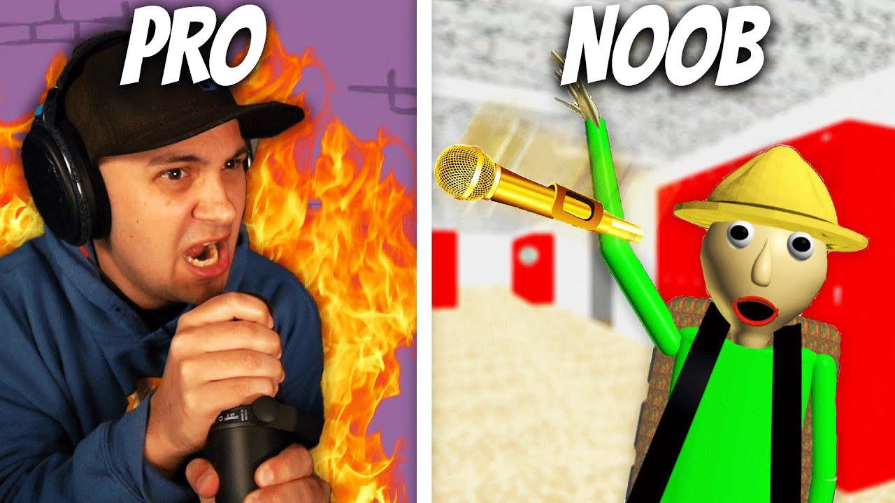I Had A Rap Battle vs. BALDI! | Friday Night Funkin'