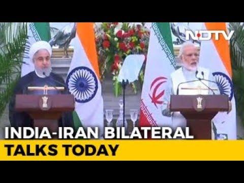 India-Iran Sign 9 Agreements, Focus On Chabahar Port