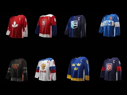 World Cup of Hockey jerseys get expert fashion critique