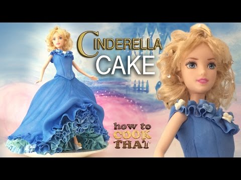 DISNEY PRINCESS CINDERELLA CAKE TUTORIAL How To Cook That Ann Reardon