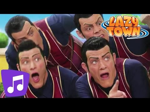 Lazy Town | We are Number One Music Video