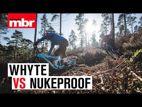 Whyte VS Nukeproof | Enduro Bike Head to Head | Mountain Bike Rider
