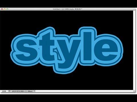Text Tutorial | Multiple Stroke effect | Photoshop CS6