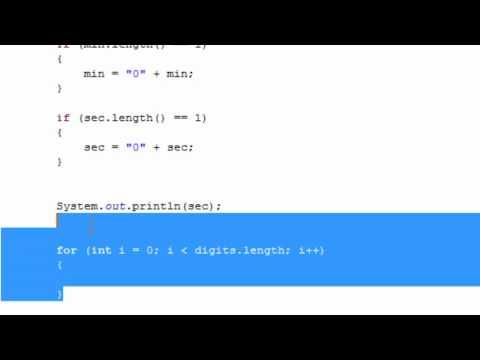 Java Tutorial - Digital Clock (Part 2)