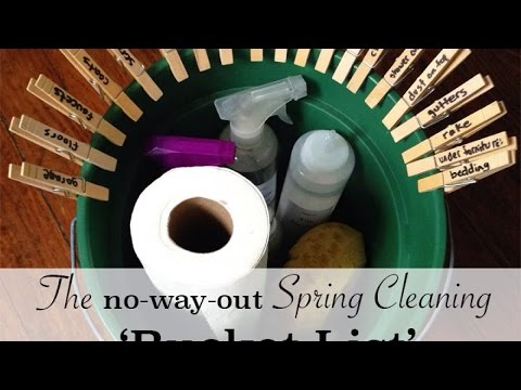Make a Spring Cleaning Bucket List - Home - Guidecentral