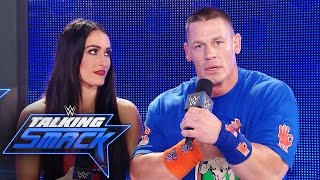 John Cena & Nikki Bella respond to being made fun of by The Miz: WWE Talking Smack, March 21, 2017