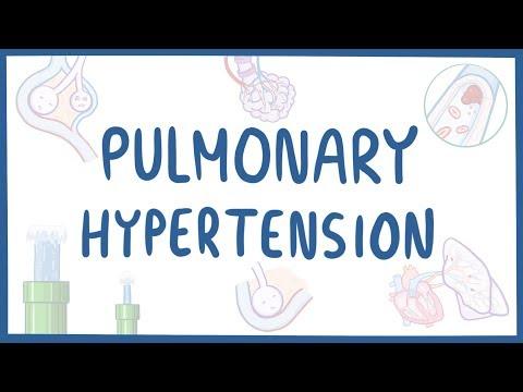 Pulmonary hypertension - causes, symptoms, diagnosis, treatment, pathology