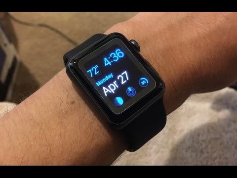 Quick Tip #1 - How to edit watch faces on the Apple Watch