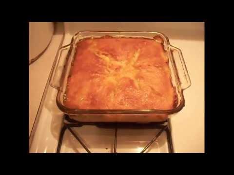 How to make peach cobbler - EASY !