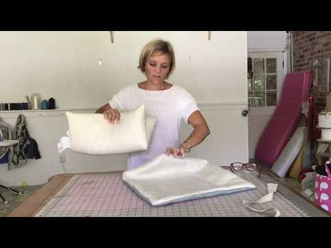 the easiest pillow cover