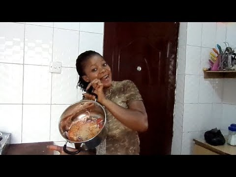 COOK AFANG SOUP WITH ME OMG!!