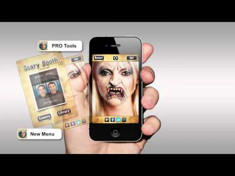 Scary Booth iOS App -- Xcode project for Sale