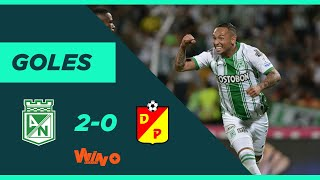 Nacional vs. Pereira (2-0) | Liga BetPlay 2020-I | Fecha 1