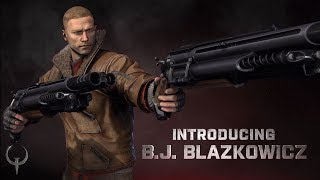 Quake Champions – BJ Blazkowicz, New Maps, & More – E3 2017 Trailer